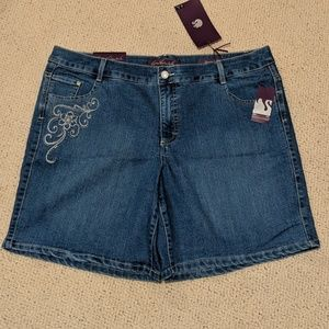 NWT denim shorts